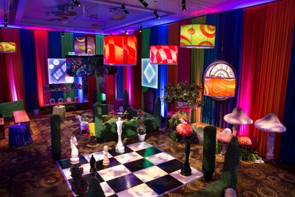 An Adult Alice In Wonderland Event Partner Meeting Ideas