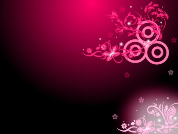 Pictures of flowers for my website background my vector for Bright pink wallpaper uk