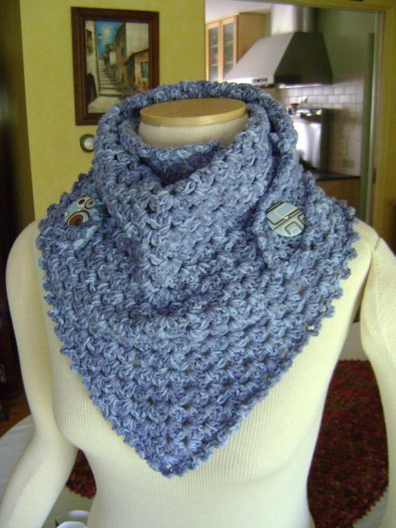 Crocheting: Mystery Box Scarflette | Crochet | Pinterest | Tejido ...