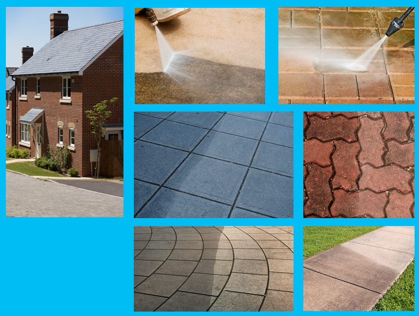 Clean and seal pressure washing services pressure