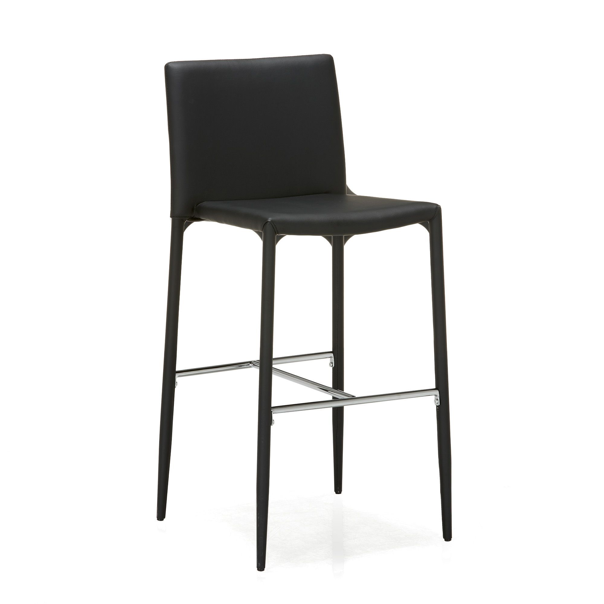 Chaise De Bar Noire Slash Tabourets Hauts Tables Et Chaises Salon Et Salle A Manger Par Piece Decoration Interi Chaise Bar Table Et Chaises Chaises Salon