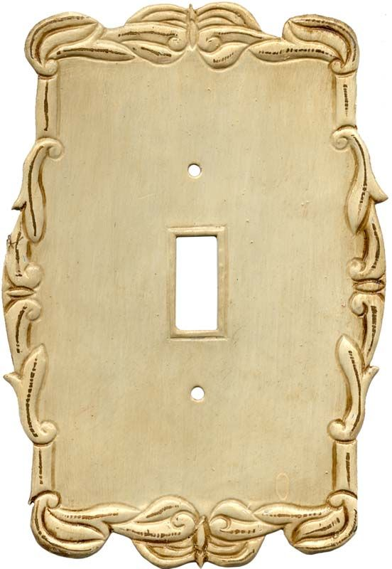 Victorian White Light Switch Plates, Outlet Covers, Wallplates ...