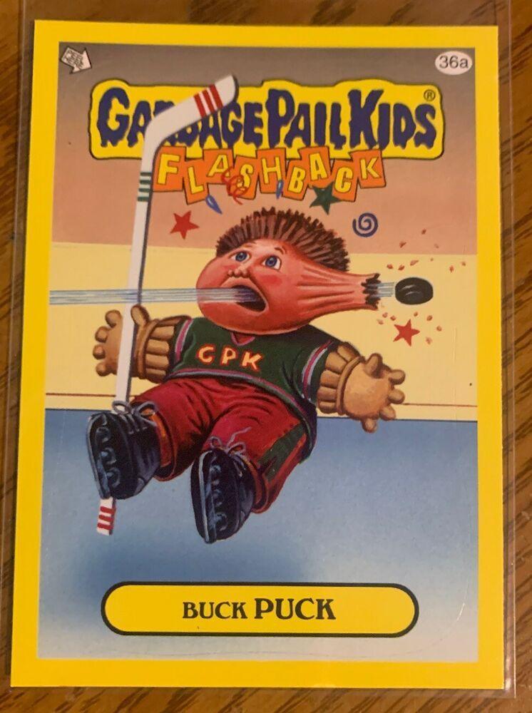 2011 Garbage Pail Kids Flashback Series 3 Buck Puck 36a Yellow Gpk Topps Nm Fbs3 Garbagepailkids Garbage Pail Kids Cards Garbage Pail Kids Pail