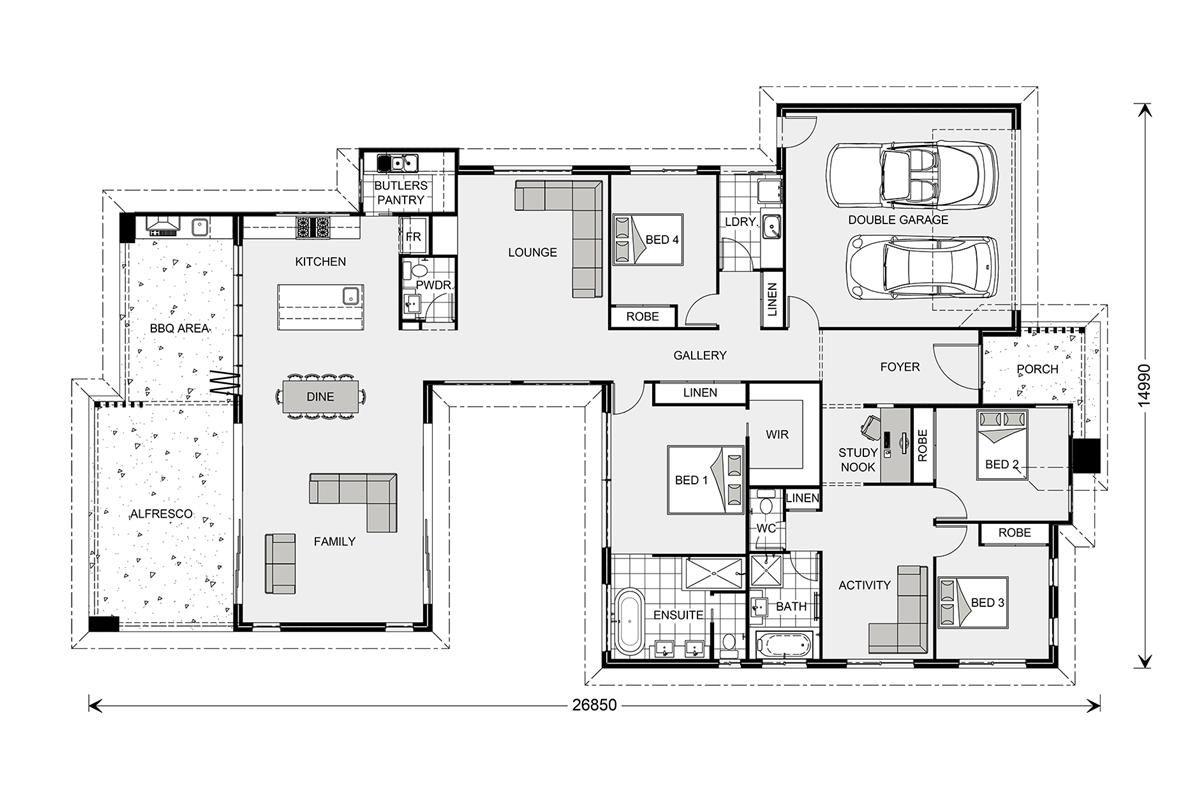 Stillwater 300 element our designs logan builder gj for Gardner flooring