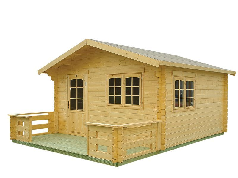 Weekender Solace Prefab Wooden Cabin Kit For Sale From  Bzbcabinsandoutdoors.net Solid Wood Cabin Kits