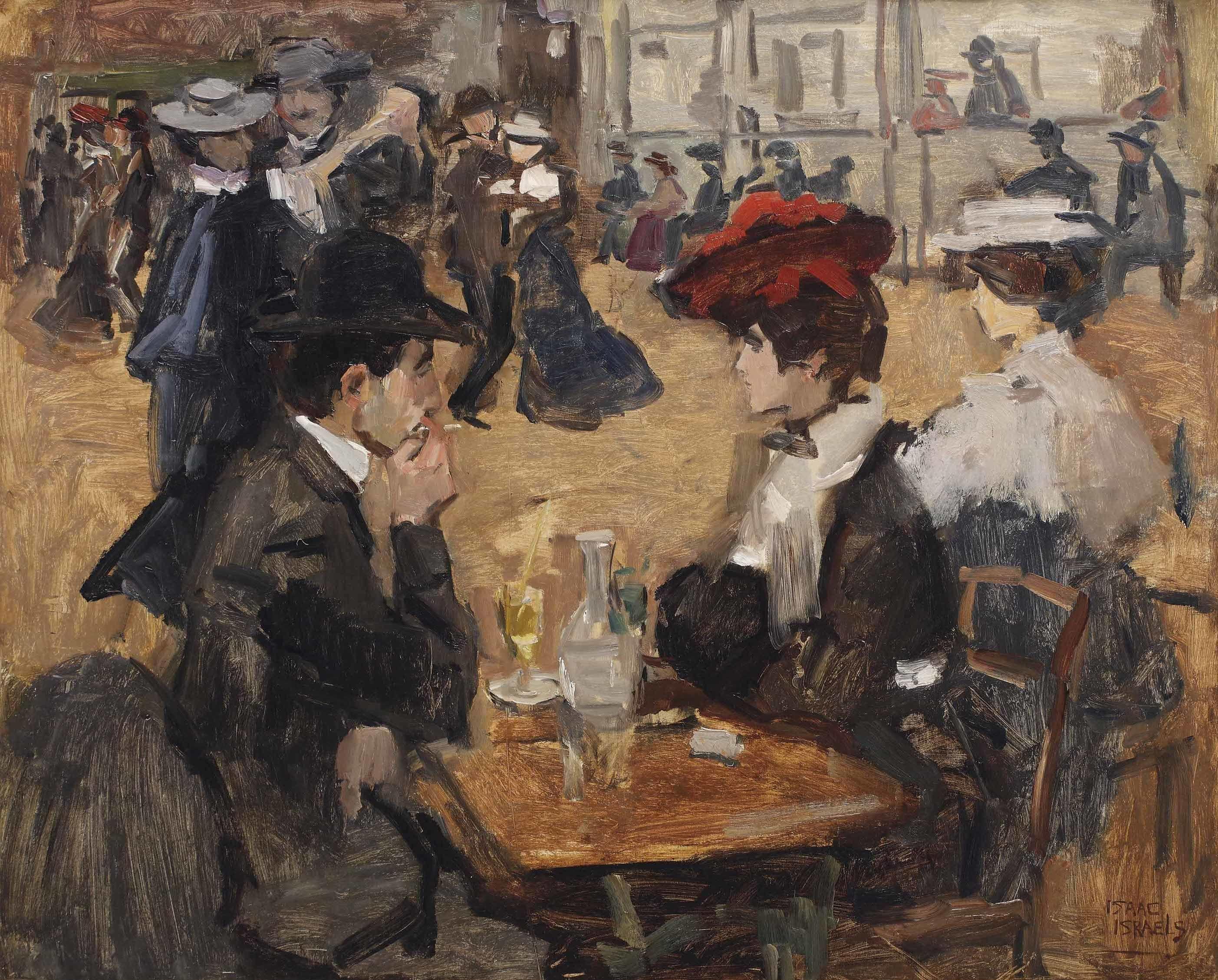 Isaac Israels - Café Dansant, Moulin de la Galette, Paris [c.1905-06] in  2021 | Fine art prints, Art prints, Figure painting