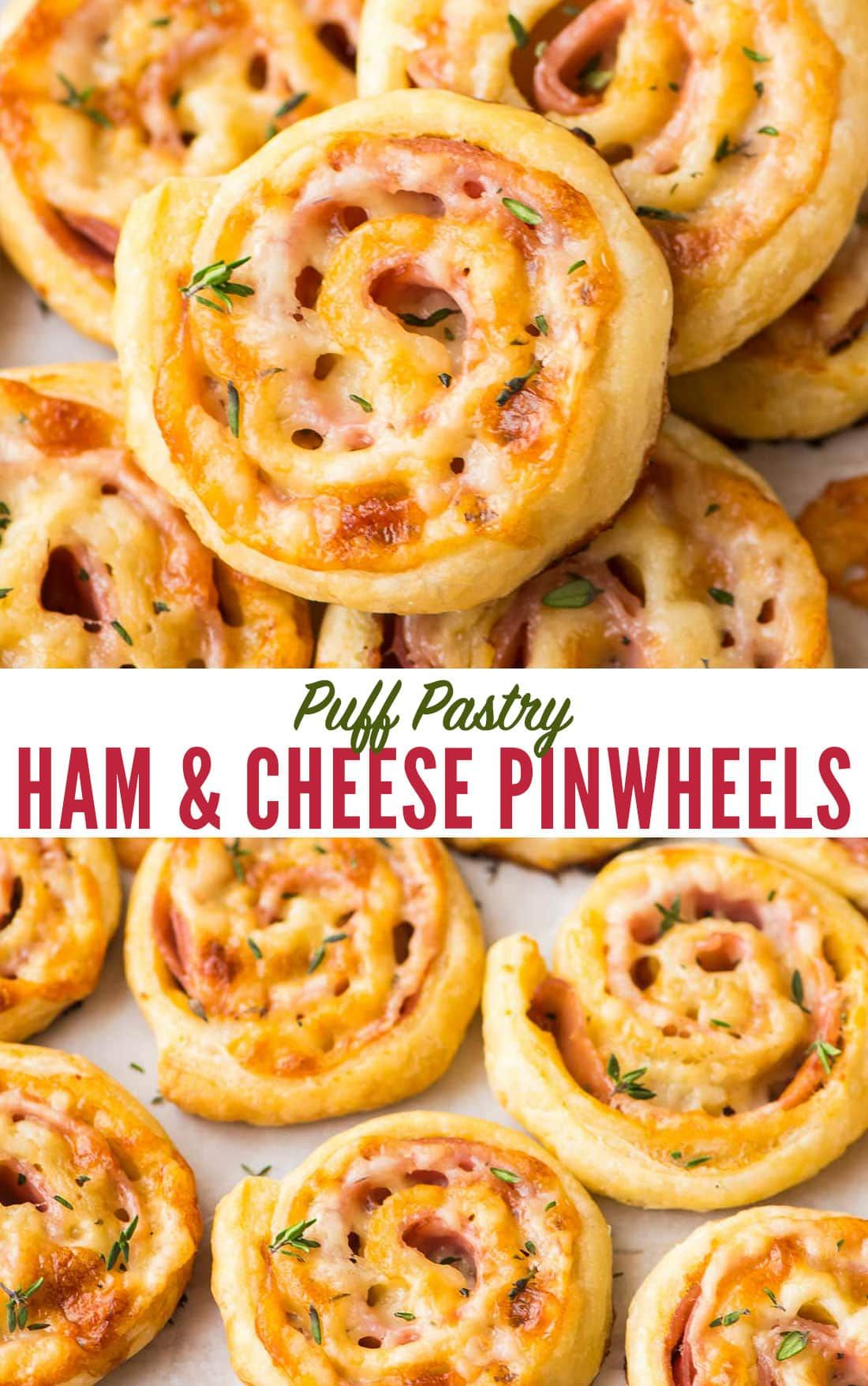 Photo of Ham and Cheese Pinwheels