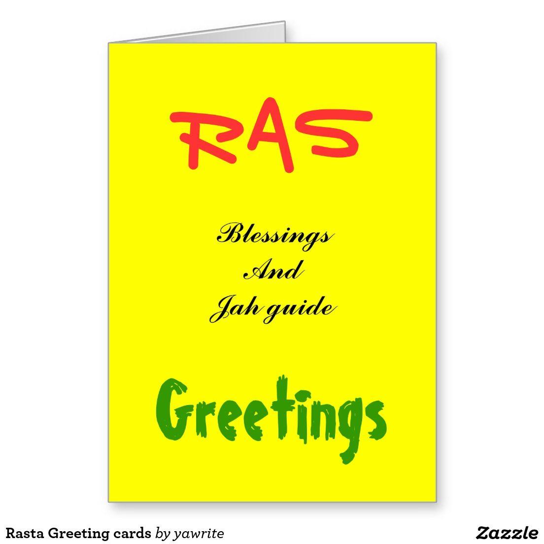 Rasta greeting cards christmas gifts pinterest greeting cards rasta greeting cards m4hsunfo
