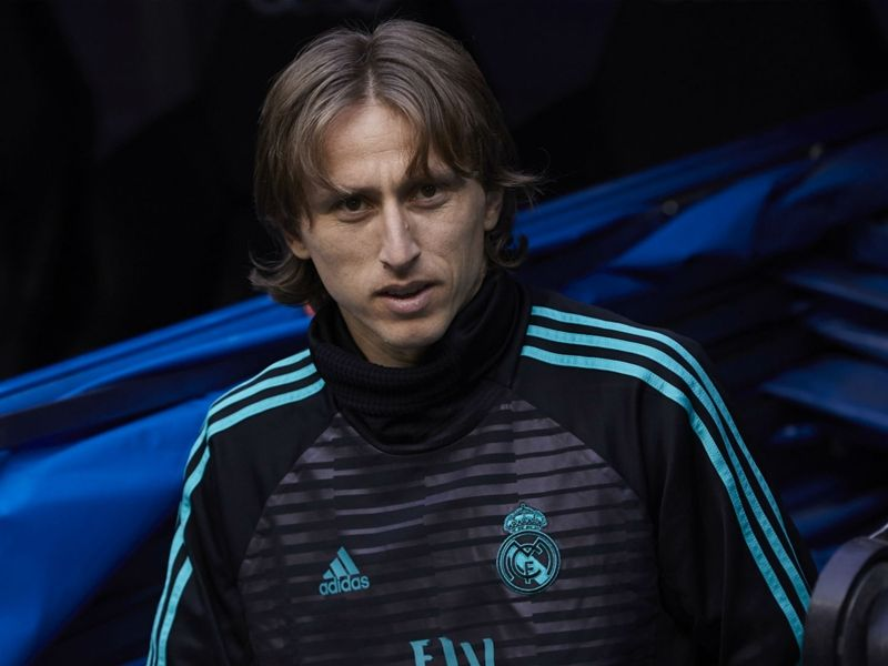 Soccer Luka Modrid transfer: Were waiting for him with open arms Lopetegui slams door on Croatians departure - The Blancos manager attempted to end speculation linking the star midfielder with a move to Inter Real Madrid manager Julen Lopetegui has attempted to end speculation linking Luka Modric with a move to Inter insisting the Blancos will welcome him back with open arms. The Croatia star has been tipped to make a shock exit to Inter following his Golden Ball-winning performance at the World