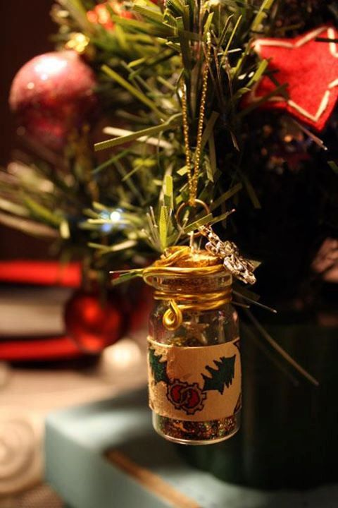 Steampunk Christmas Tree Decoration 39 Cogberry 39 Little Alchemy Bottle Steampunk Christmas Steampunk Christmas Tree Christmas Tree Decorations