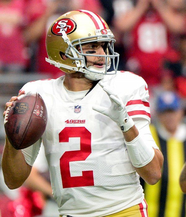 Ex 49ers Qb Brian Hoyer Agrees To 3 Year Deal With Patriots With Images Brian Hoyer 49ers Patriots