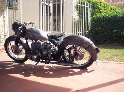 1954 bmw roadster bomber ww2 postwar   cool bikes   Pinterest ...