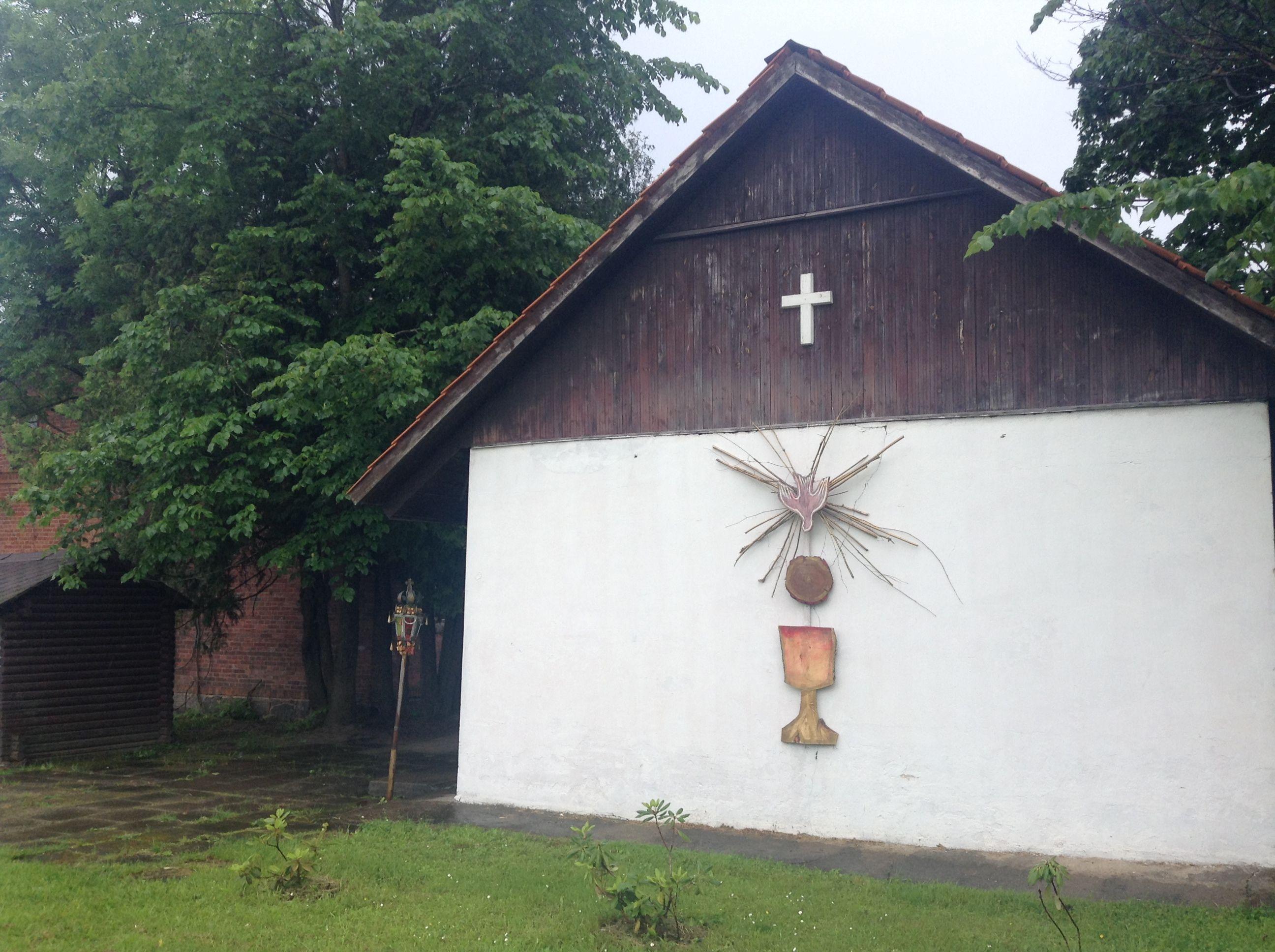 Madona マドゥアナにある教会