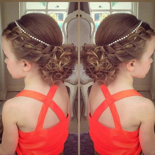The most beautiful hairstyles for girls: photo ideas and tips for mothers #girlhairstyles