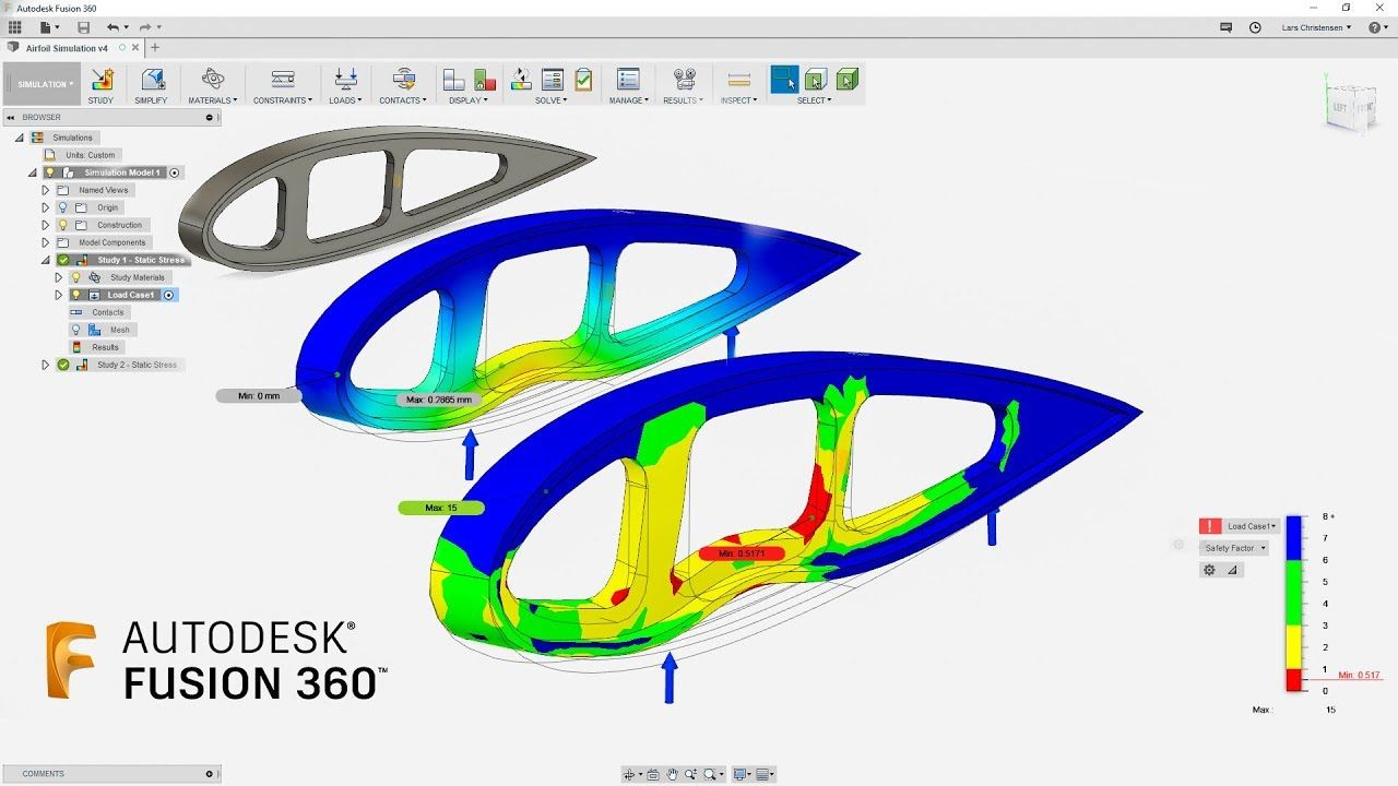 How To Make Design Decisions With Simulation Fusion 360 Tutorial La Make Design Fusion Tutorial