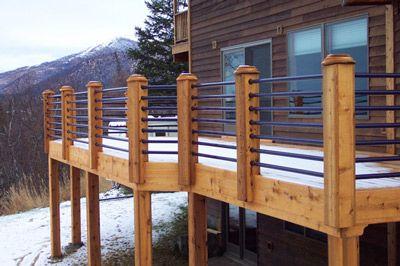 Best Galvanized Pipe Deck Rail Deck In 2019 Horizontal Deck 400 x 300