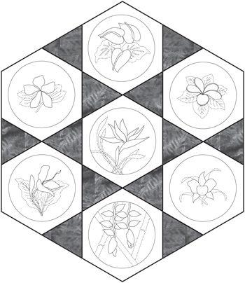 Trop Mini Preview online sashiko kits and patterns