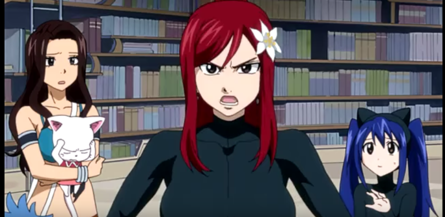 Fairy Tail Erza Ass