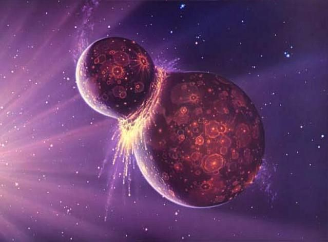 "New research from UCLA lends credence to the theory that the moon was formed from a violent, head on collision with a ""planetary embryo"" known as Theia. Other theories suggest the moon may have for..."