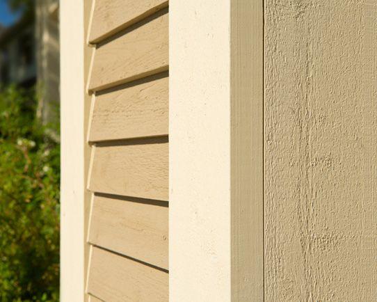 Shiplap And Corner Trim Detail Wood Siding Siding Wood