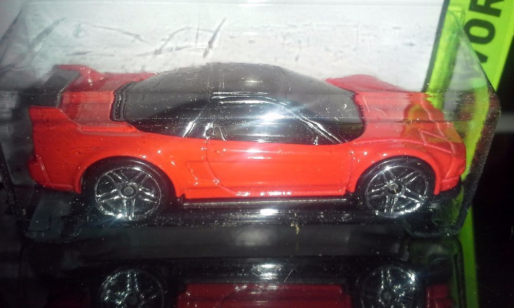 HOT WHEELS 2015 WORKSHOP   '90 ACURA NSX   (RED) #HotWheels