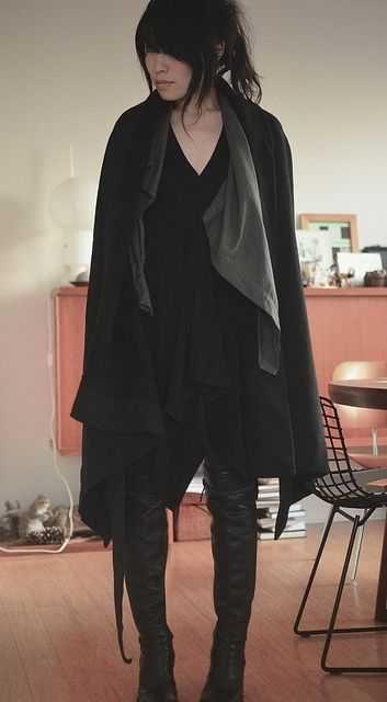 Goth Ninja Fashion