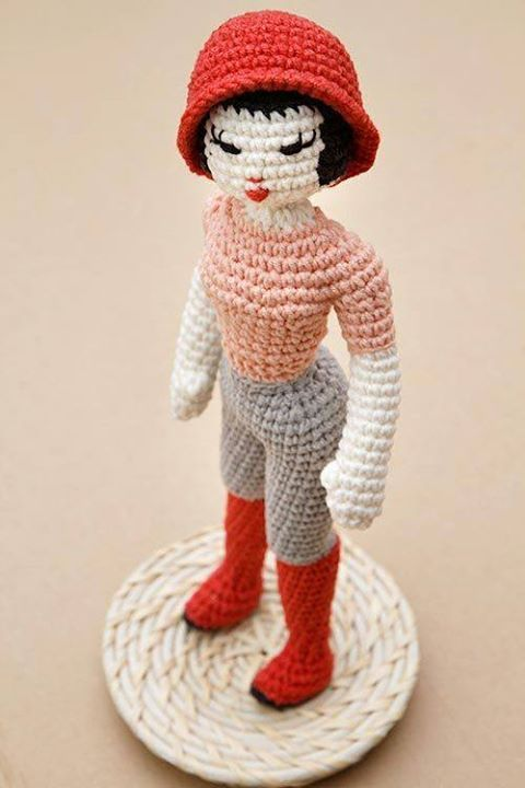 Miette can walk the catwalk in a fashion show, with her long legs she has the elegance of a fashion model! Miette the fashion doll by StuffTheBody http://ift.tt/29D9q14