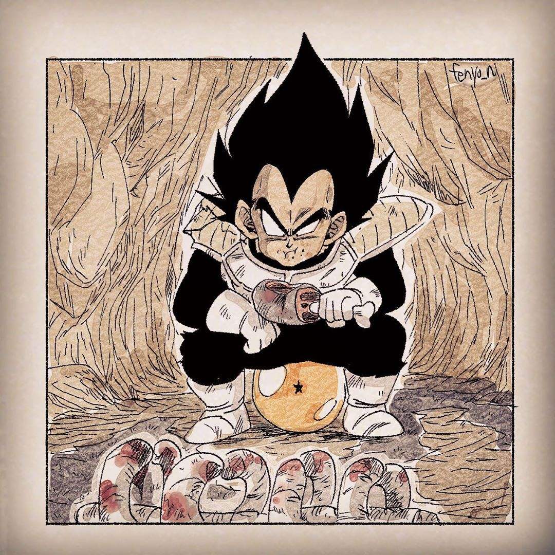3 280 me gusta 12 comentarios ふぇにょん fenyo n en instagram dragon ball artwork anime dragon ball super dragon ball art