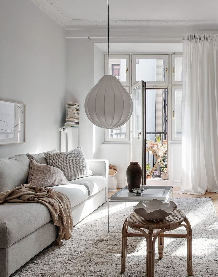 Furniture Living Room : Sun filled flat with a dreamy bedroom via Coco Lapine De…