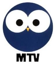 Retro owl logo by MTV (Finland's oldest commercial TV channel) | I