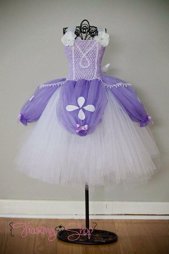 The ORIGINAL- Deluxe Sofia The First Tutu Dress Costume | Festa ...