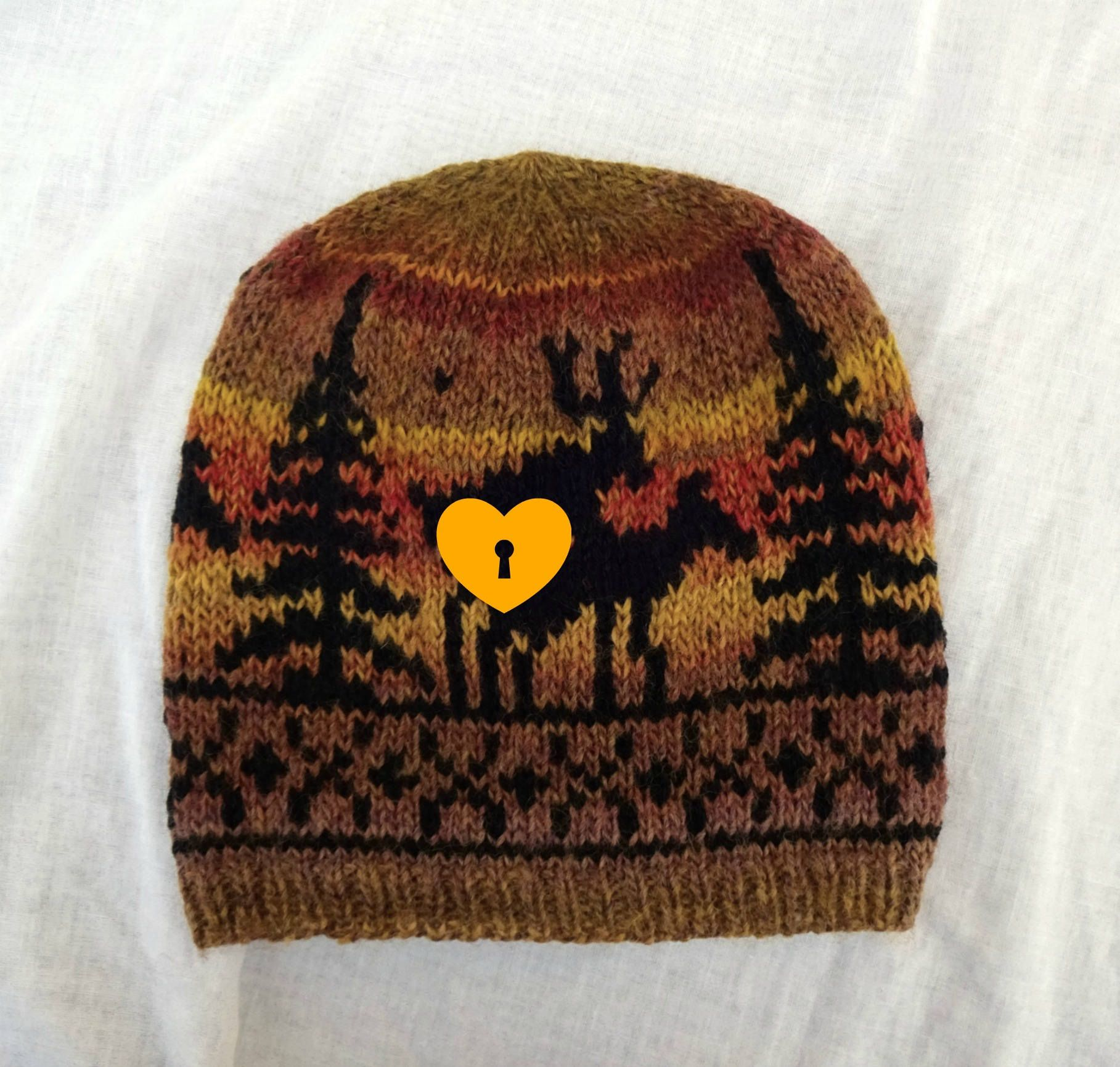 Fornicating Deer Hat Large 6e830303376