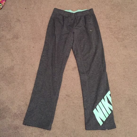 2d64d841215a Nike sweat pants Grey and Tiffany blue. Fleece lined. Like new Nike Pants  Track Pants   Joggers