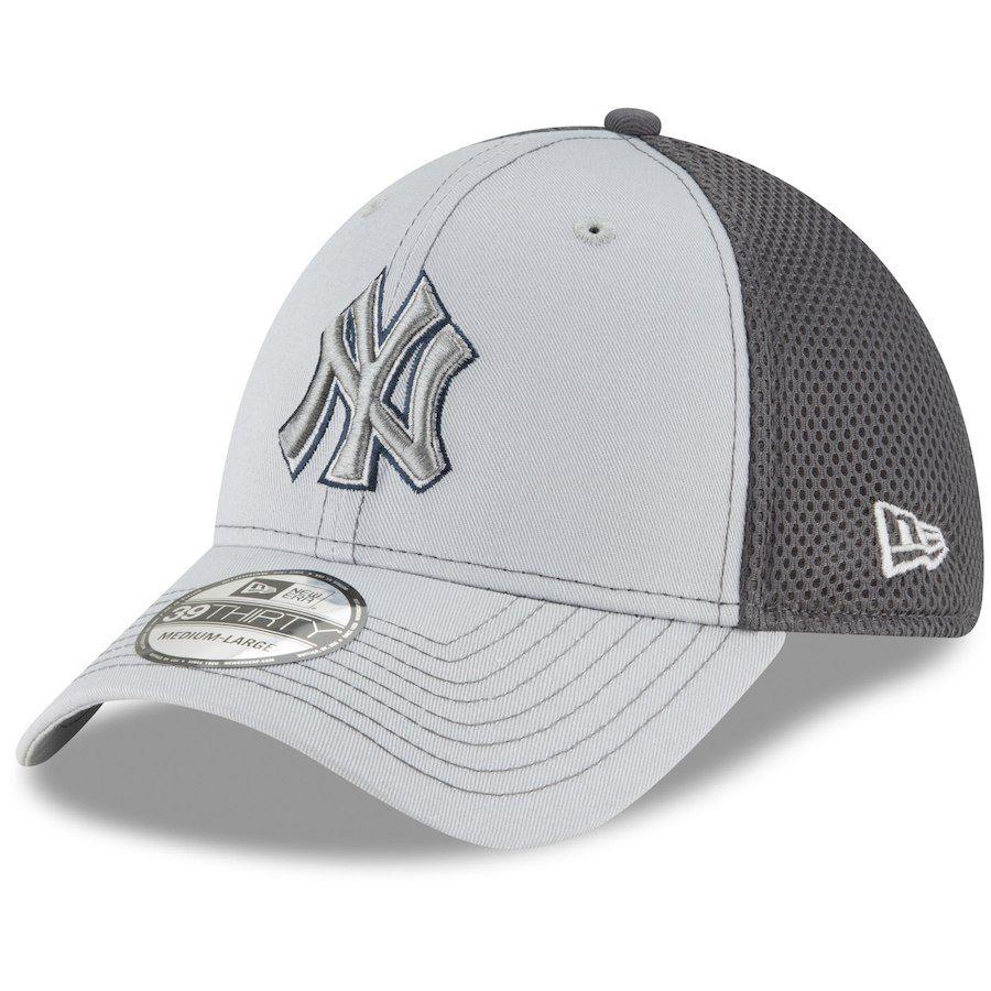 sale retailer beb42 f8b2e Men s New York Yankees New Era Gray Grayed Out Neo 39THIRTY Flex Hat,  25.99