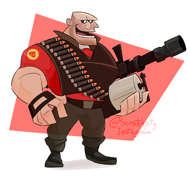 The Big Man Was Highly Requested Here You Go Folks Heavy And Sasha Tf2 Big Men Team Fortress 2 Team Fortress