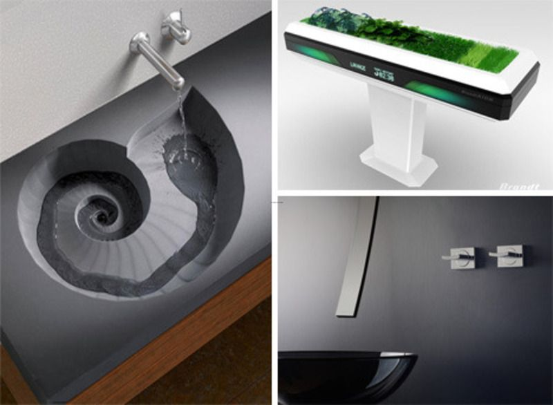 designer bathroom faucets bathroom buildcom bathroom sinks faucets lighting - Bathroom Sinks Designer