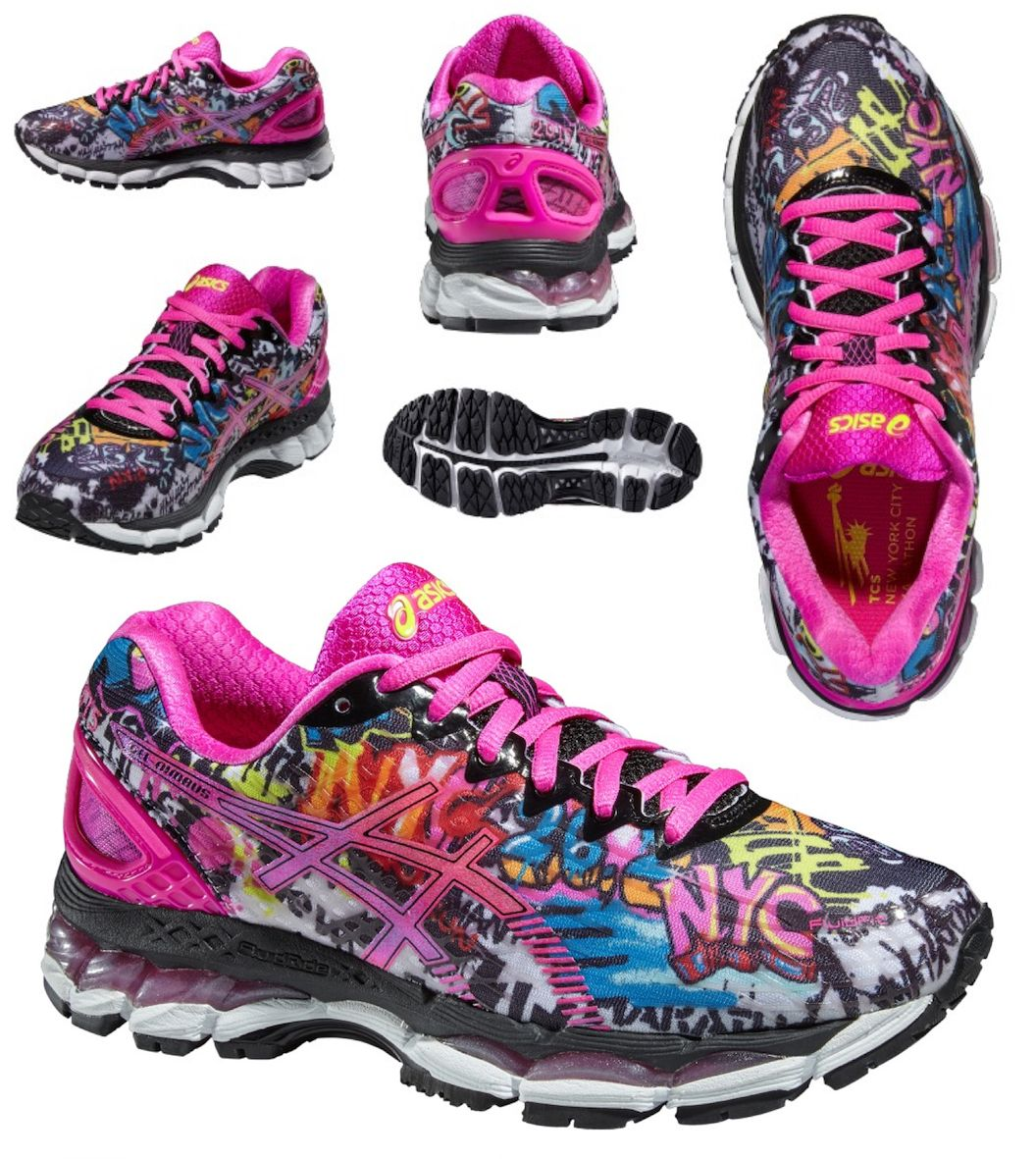 GEL NIMBUS 17 NYC T5M8N Women Running Shoes. limited