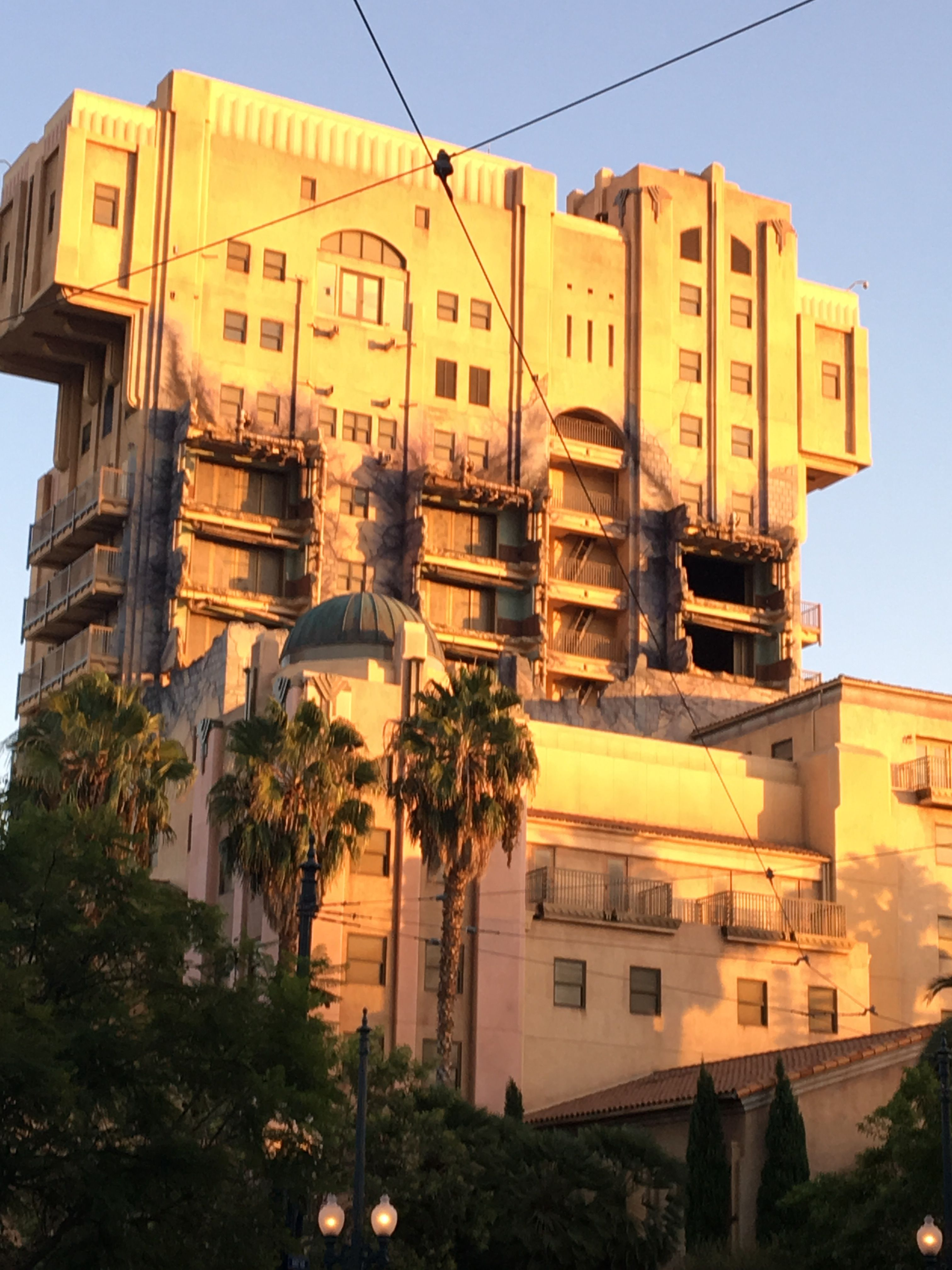 Tower of Terror without logo... getting closer to closing 😢