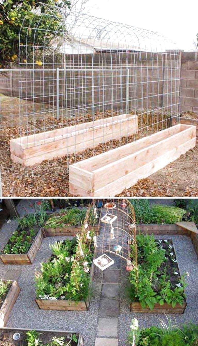 56 Very Beautiful Backyard Vegetable Garden Designs Ideas In 2020 Vegetable Garden Design Small Vegetable Gardens Backyard Vegetable Gardens