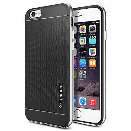 iPhone 6 Case, Spigen Neo Hybrid Case for iPhone 6 (4.7-Inch) - Retail Packaging - Satin Silver (SGP11033) Spigen http://www.amazon.com/dp/B00LL71ZMS/ref=cm_sw_r_pi_dp_NgEVub0CKX58P