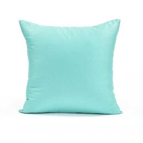 """26"""" X 26"""" Solid Tiffany Blue Over Sized Euro Sham Pillow Cover by Blooming Home Decor, http://www.amazon.com/dp/B00BZ6N1IQ/ref=cm_sw_r_pi_dp_CDDYrb1QMPK0C"""