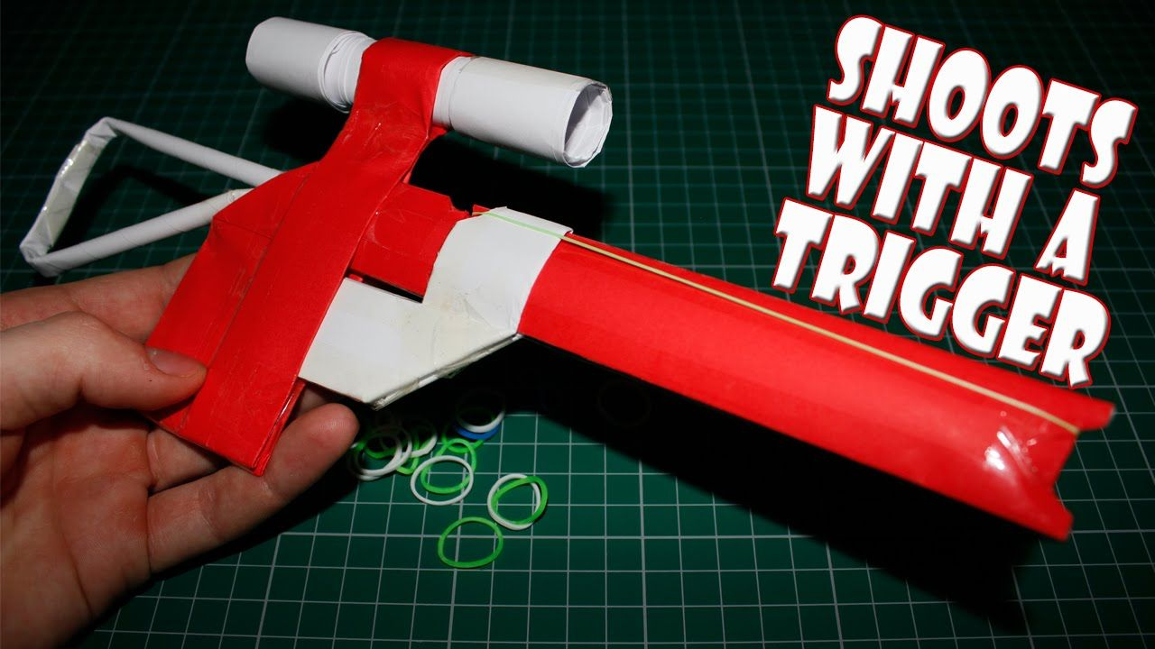 how to make gun with paper