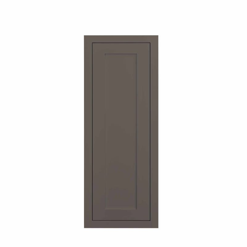 Maplevilles Cabinetry W123014 Inset 12 Wide X 30 Tall 1 Door Wall Cabinet Dark Grey Kitchen Cabinets Wall Cabinets 12 Inch In 2020 Door Wall Dark Grey Kitchen Cabinets Dark Grey Kitchen