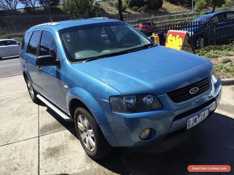 Car For Sale Ford Territory Sy Sr Automatic 7 Seater