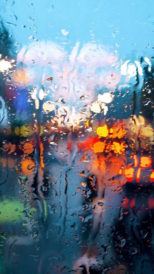 Rainy Weather Iphone Wallpapers Rainy Wallpaper Fall Wallpaper