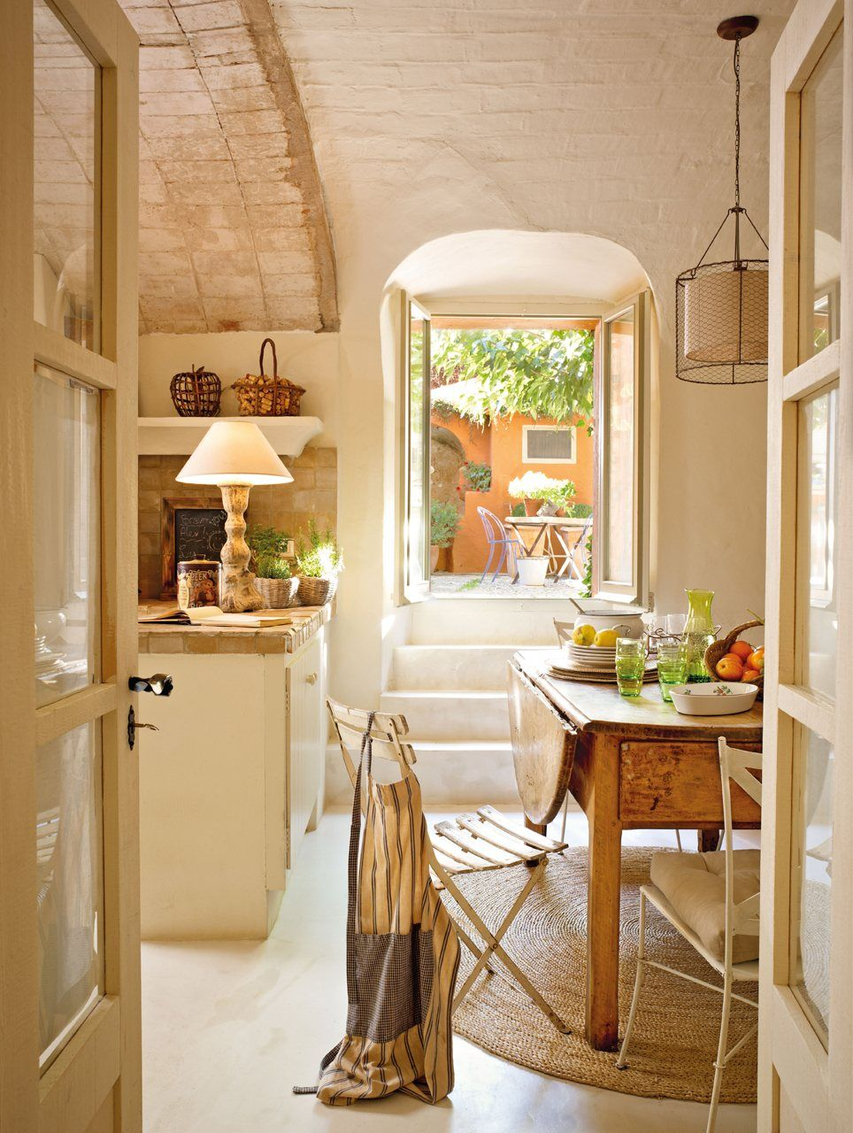 Una casa de pueblo llena de buenas ideas - Decoracion de casas de pueblo ...