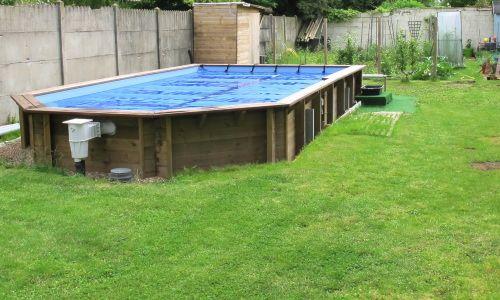 Faire un deck pour ma piscine hors sol pool Pinterest - fabriquer sa piscine en bois