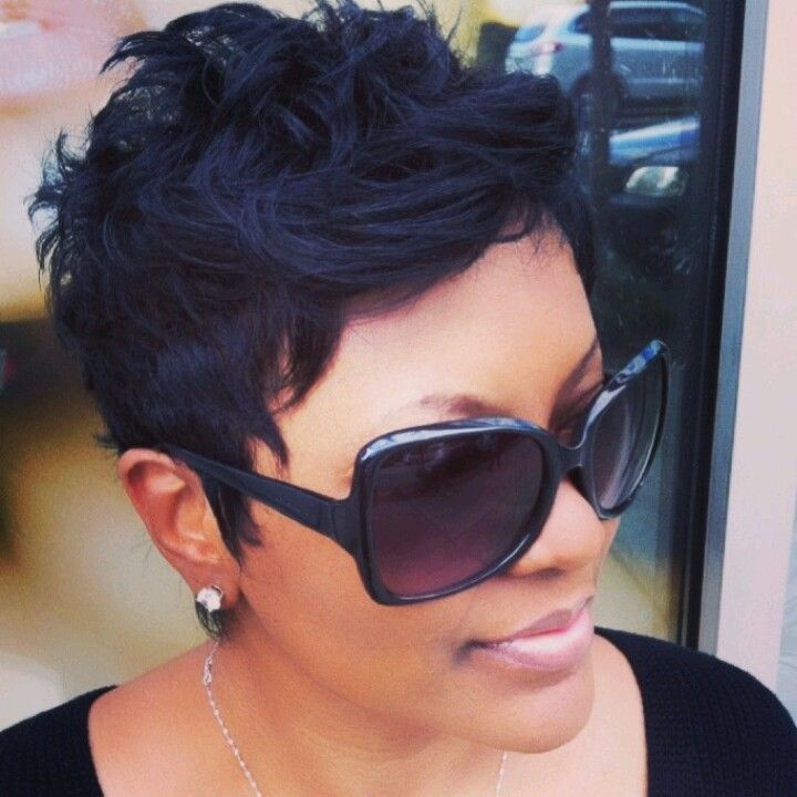 black pixie haircut ideas