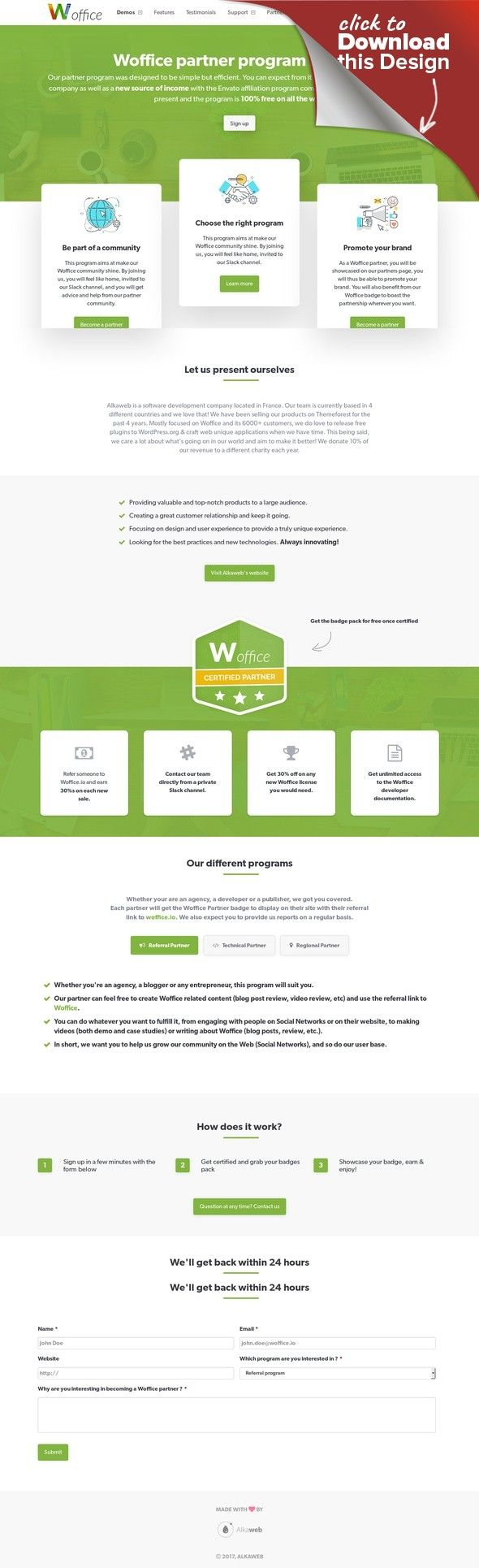 Woffice - Intranet/Extranet WordPress Theme association, community ...