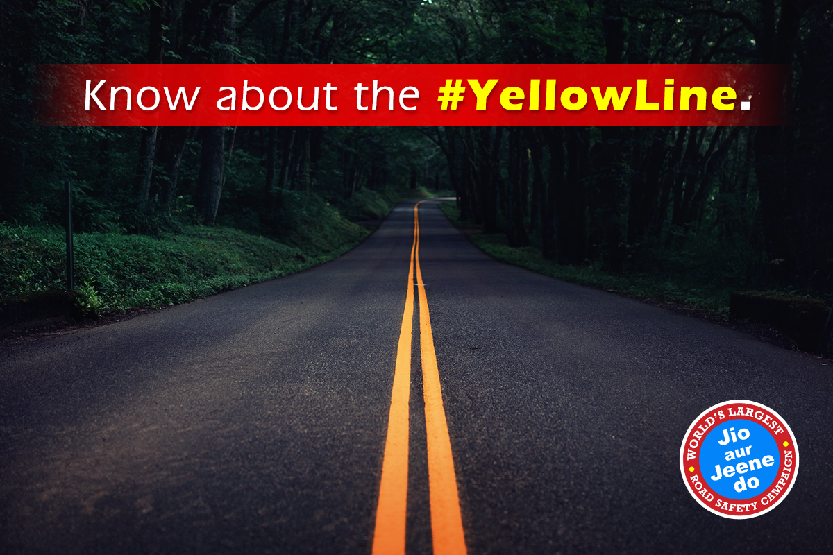 Yellowline Usually On 2 Lane Roads It S Used To Prevent Crossing Over Into The Lane With Traffic Going In The Opposite Directi Road Safety Road Country Roads